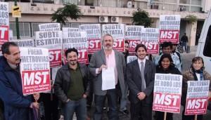 Bodart denuncia Metrovias 4 de junio 2013