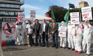 escrache a Monsanto
