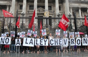 no a la ley chevron 2