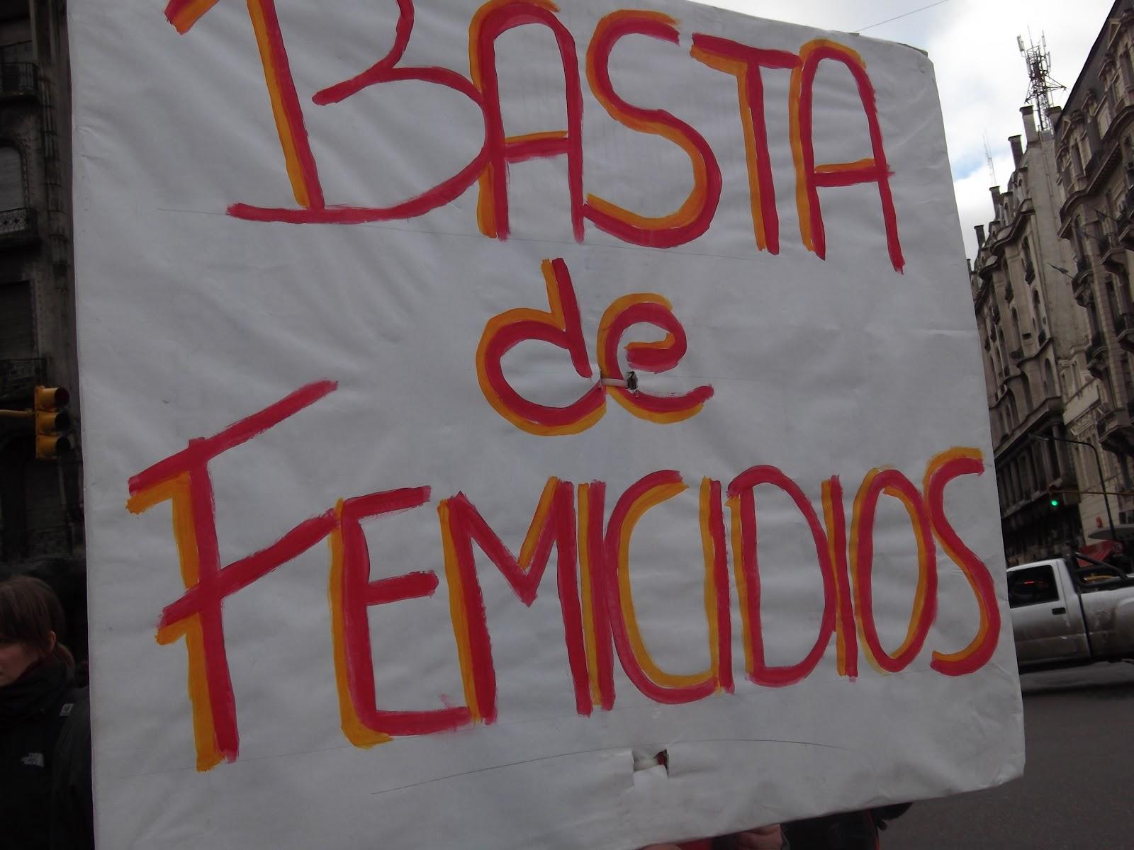 Ante el femicidio en puerto madero declarar la emergencia en violencia de g nero