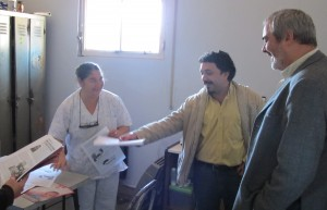 Alejandro Bodart y Sergio Garcia Hospital R Mejia