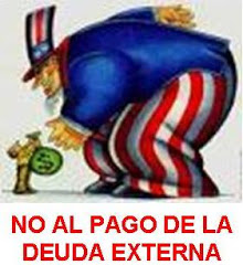 NO AL PAGO DE LA DEUDA EXTERNA