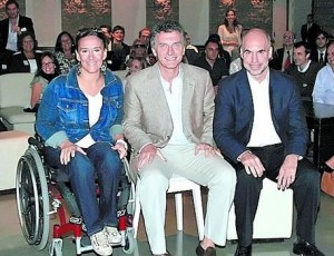 Michetti Macri y Larreta